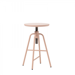 Tabouret de Bar Réglable Big Hug | Rose