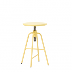 Adjustable Bar Stool Big Hug | Yellow