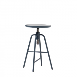Adjustable Bar Stool Big Hug | Blue