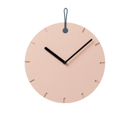 Wall Clock Big Hug | Pink