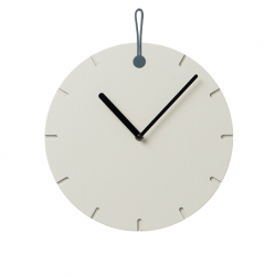 Wall Clock Big Hug | Grey