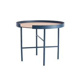 Round Coffee Table Big Hug | Blue
