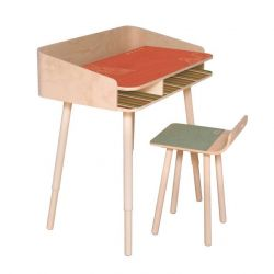 TonTon Desk & Chair Rosa