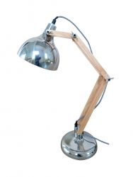 Lampe de Table Dexter | Chrome