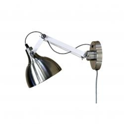 Wall Lamp Dexter | Metal & White