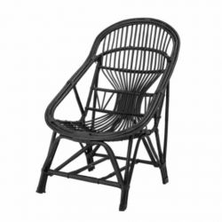 Lounge Chair Joline | Black
