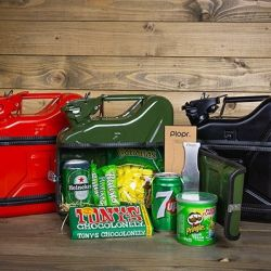 Geschenkpaket Jerrycan Bar 5 L | Grün