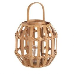 Lantern Candle Holder Java | Natural