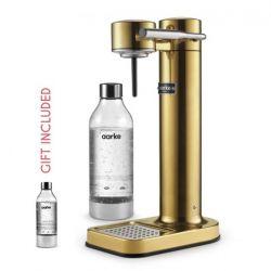 Sparkling Water Maker + Gift: 1 Aarke Bottle | Brass