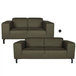 4,5 Seater Sofa Marbella | Army Green