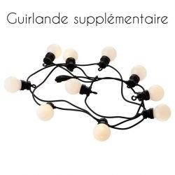 Guirlande Lumineuse Supplémentaire Lucas 10 Lampes LED | Givré