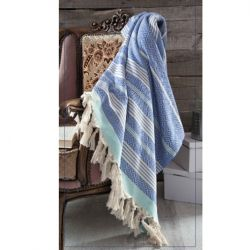 Blanket Diamond Colorful | Blue