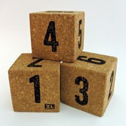 Desk Cork Voodoo Cube | Dice