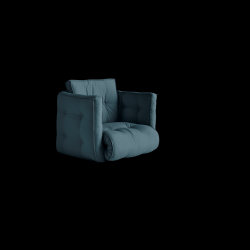 Armchair Dice | Petrol Blue