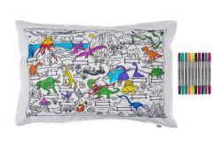Dinosaurier-Kissenbezug | 75 x 50 cm