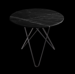 Dining Table DINING O | Black & Black