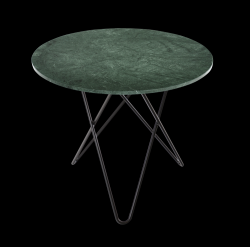 Dining Table DINING O | Green & Black