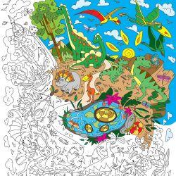 Dinoland Colouring