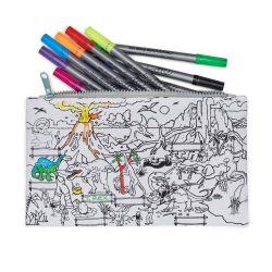Dinosaurier-Bleistifttasche