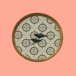 Eetbord Vogels D28