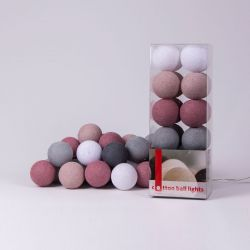 Lichtslinger Cotton Balls | Dirty Rose