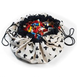 Toy Storage Bag Disney | Mickey Black