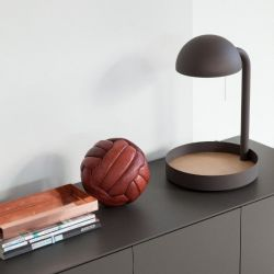 Full Moon Tafel Lamp | Taupe