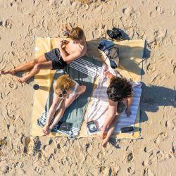 Sandfreie Strandmatte | Sandfarbe/Sandfarbe
