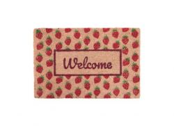 Doormat 'Welcome-Strawberries'