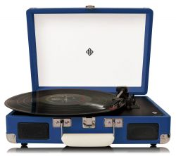 Record Player | Dark Blue