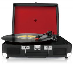 Record Player | Black/Red