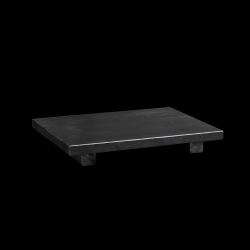 Table de Chevet Dock Set de 2 | Noir