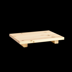 Table de Chevet Dock Set de 2 | Naturel