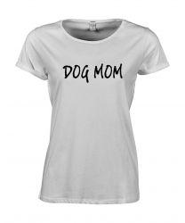 T-shirt Dog Mom | White