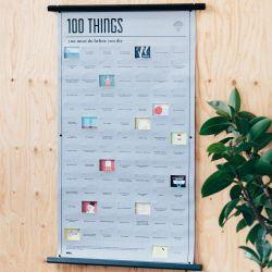 Poster | 100 Dinge, die zu tun sind