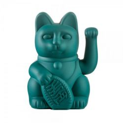 Lucky Cat | Green (for Family & Community)