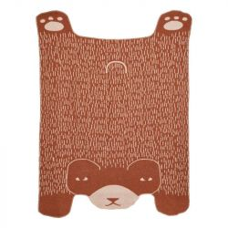 Bear Shaped Throw | Brown