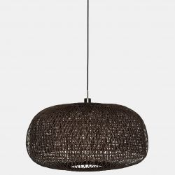Hanging Lamp Doppio Facet | Dark Brown