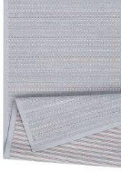 Doppelseitiger Teppich Esna | Silber