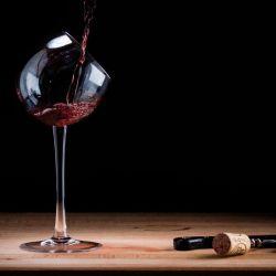 Tipsy Wine Glass | Set/2