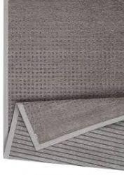 Doppelseitiger Teppich Helme | Braun