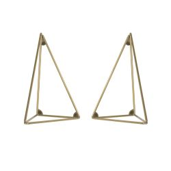 Bracket | Set of 2 | Brass