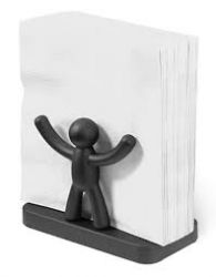 Napkin Holder Buddy | Black