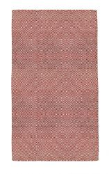 Indoor/Outdoor PET Rug Solitaire | Red