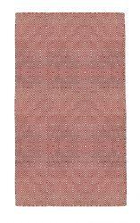 Indoor/Outdoor PET Rug Solitaire | Red