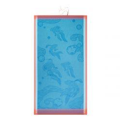 Strandtuch Oceanique Atoll 200 x 100 cm | Blau