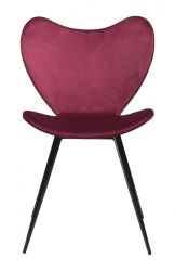 Chaise Dreamer | Velours Ruby