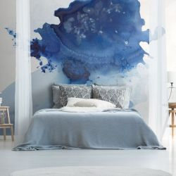 Wall Mural Dreamy | Blue