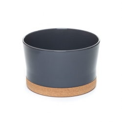 Dressing Salad Bowl | Dark Grey