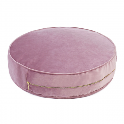 Pouf Velours 60 cm | Heather